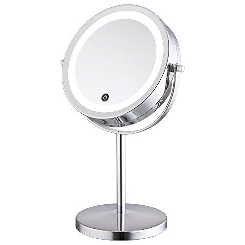 alhakin 1 5 fach 360 led touchscreen make up spiegel. Black Bedroom Furniture Sets. Home Design Ideas