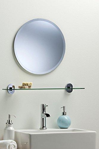 Sch ner runder badezimmerspiegel modern und stylish mit - Badezimmerspiegel modern ...