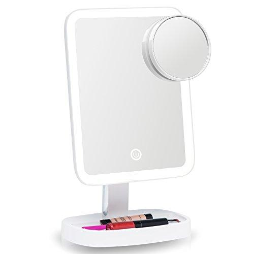 fancii beleuchteter schminkspiegel kosmetikspiegel mit. Black Bedroom Furniture Sets. Home Design Ideas