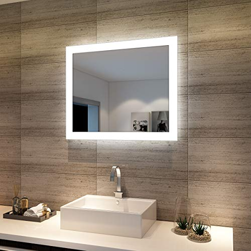 Sunnyshowers Badspiegel Lichtspiegel Kupfer/bleifreie