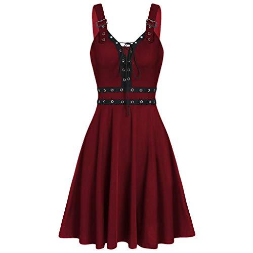 Top 10 Gothic Kleid kurz - Kostüme für Erwachsene - RedNalle
